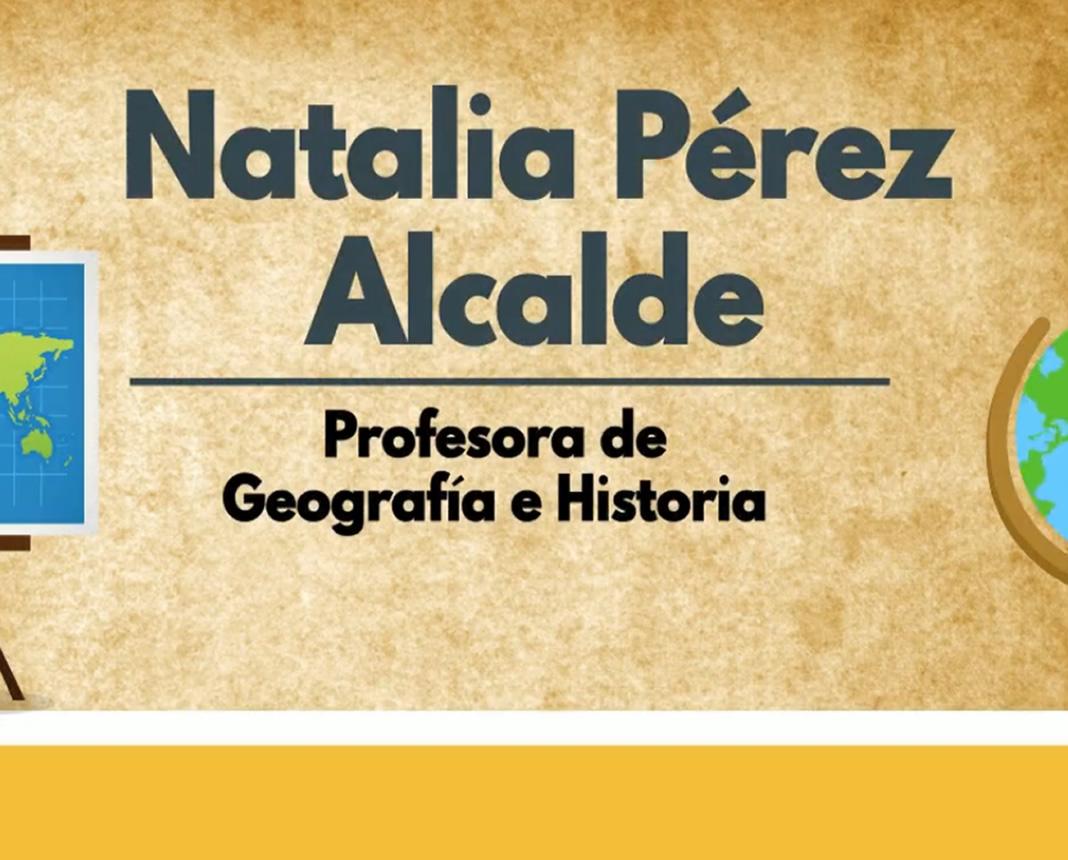 videocurriculum,profesora,geografia,historia