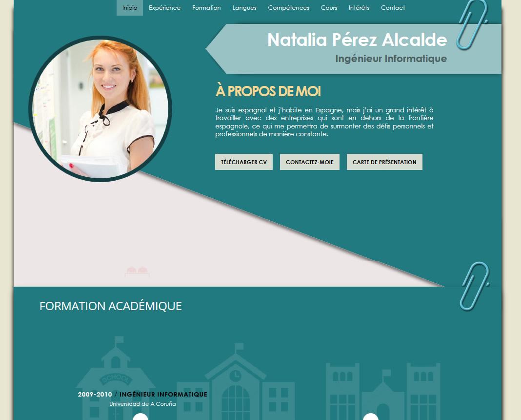 plantillas de curriculum online en franc u00c9s