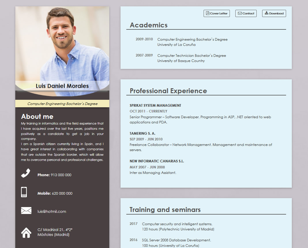 Curriculum Vitae en Inglés| Trabaja en cualquier país | cvExpres