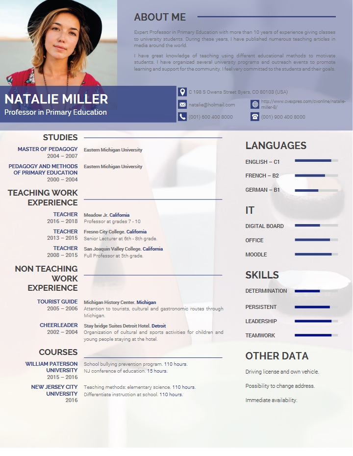 teacher, resume, templates