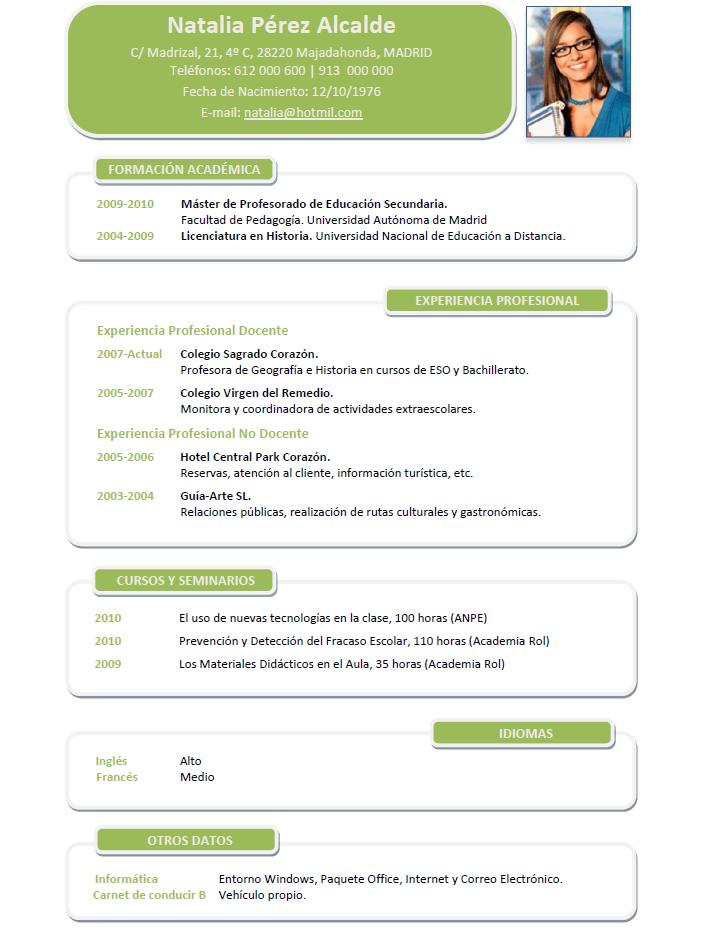 Curriculum Para Medicos Y Enfermeras Cvexpres