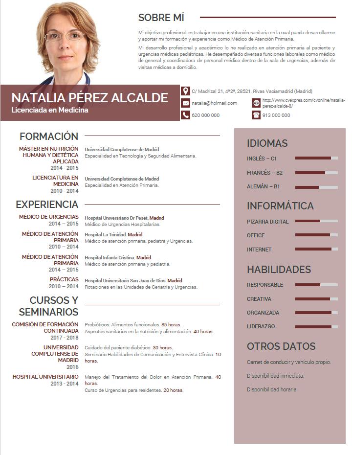 elaboracion-del-curriculum-medico-819-full Curriculum Vitae Medico on