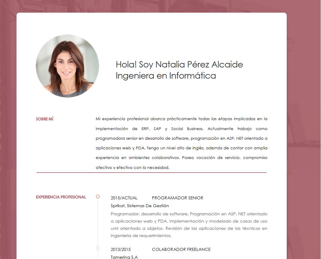 Curriculum empresarial | Los diseños más profesionales | cvExpres