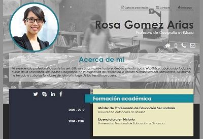 currículum online profesor n° 10 - empleo en colegios