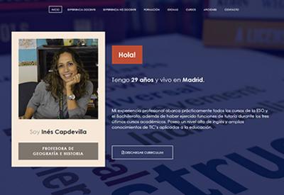 currículum online profesor n° 2 - para colegios privados