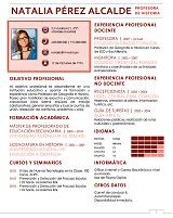 currículum profesor n° 27 trabajar en colegios