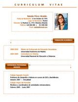 currículum profesor n° 35 - empleo colegios privados