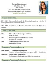 currículum profesor n° 40 - trabajar en colegios