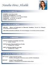 currículum profesor n° 31 enviar cv colegios