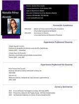 currículum profesor n° 34 para mandar a colegios