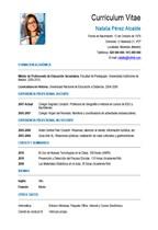 currículum profesor n° 33 - trabajo colegios privados