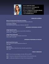 currículum profesor n° 21 - empleo colegios privados