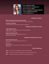 currículum profesor n° 41 empleo en colegios