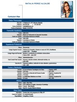 currículum profesor n° 42 trabajar en colegios