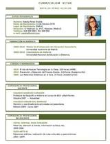 currículum profesor n° 49 para colegios privados