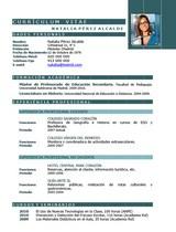 currículum profesor n° 58 trabajo en colegios