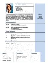 currículum profesor n° 9 para mandar a escuelas