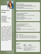 currículum profesor n° 60 para mandar a colegios