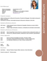 currículum profesor n° 61 buscar empleo en colegios