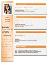 currículum profesor n° 67 para mandar a escuelas
