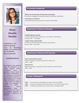currículum profesor n° 24 - empleo colegios privados