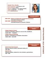 currículum profesor n° 75 trabajo colegios privados