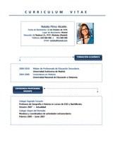 currículum profesor n° 77 para colegios privados