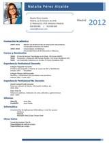 currículum profesor n° 79 para colegios privados