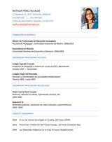 currículum profesor n° 25 - empleo colegios privados