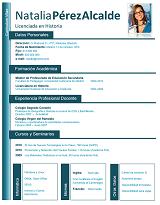 currículum profesor n° 15 empleo en colegios
