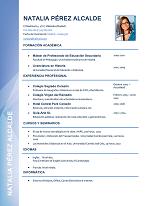 currículum profesor n° 12 para colegios privados