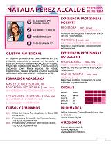 currículum profesor n° 9 - trabajo en colegios