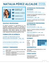 currículum profesor n° 44 empleo en colegios
