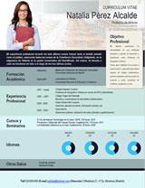 currículum profesor n° 4 - para colegios privados