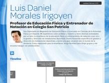 currículum online profesor n° 3 - trabajo colegios privados