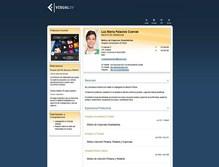 currículum online profesor n° 6 -  cv industrias químicas, alimentacion