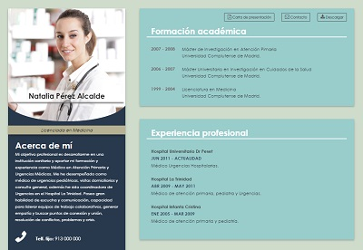currículum online profesor n° 1 - enviar curriculum industrias químicas, alimentacion