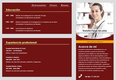 currículum online profesor n° 3 - empleo en hoteles