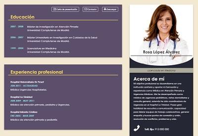 currículum online profesor n° 4 - trabajar en hoteles