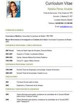 cv médico-enfermera n° 25 trabajar en hospitales y clinicas privadas