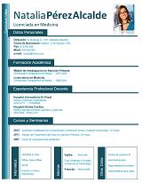 currículum profesor n° 5 - mandar cv médicos de selección, RRHH