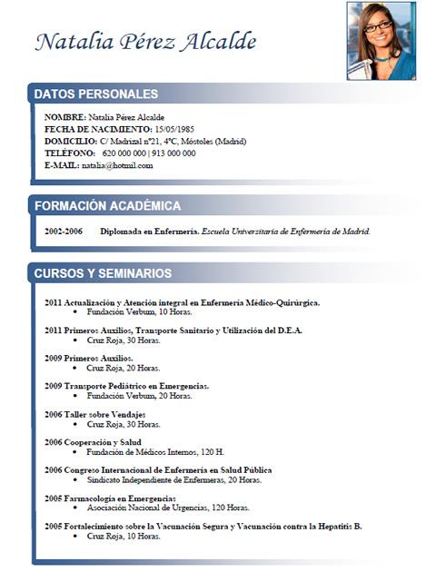 sanidad-2-full Curriculum Vitae Medico on