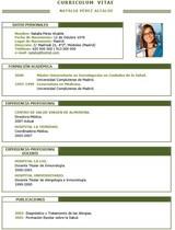 currículum profesor n° 41 - mandar curriculum hoteles