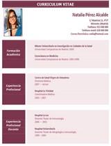 currículum profesor n° 50 - enviar cv médicos