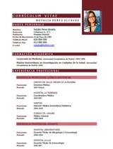 currículum profesor n° 16 - trabajo en el corte ingles, gas natural, carrefour, seat, alcampo