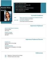cv médico-enfermera n° 46 trabajo en hospitales y clinicas privadas