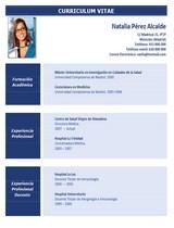 cv médico-enfermera n° 54 empleo hospitales y clinicas privadas