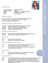 cv médico-enfermera n° 9 trabajo en hospitales y clinicas privadas