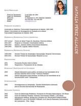 cv médico-enfermera n° 62 para hospitales y clinicas privadas