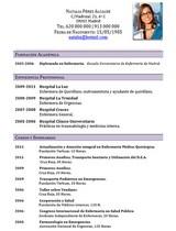 cv médico-enfermera n° 64 empleo en hospitales y clinicas privadas
